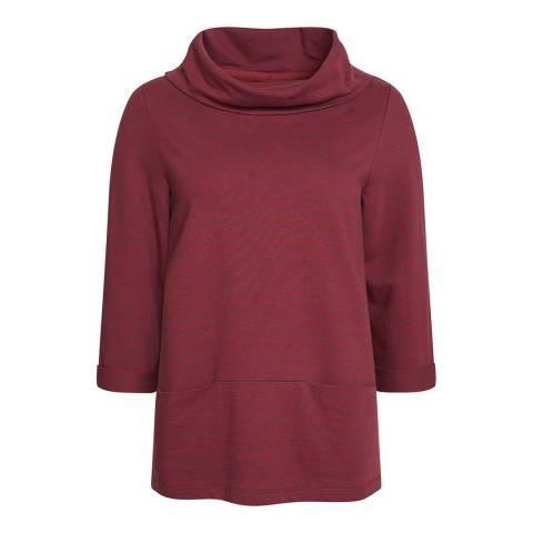 Seasalt Red Brehat Sweatshirt