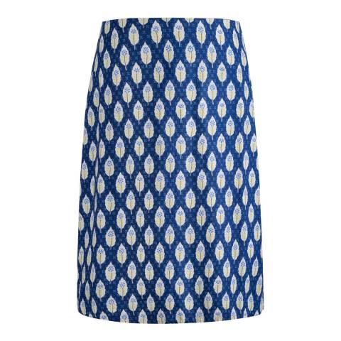 Seasalt Navy Portfolio Skirt