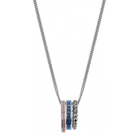 Radley Blue & Silver Hatton Row Necklace