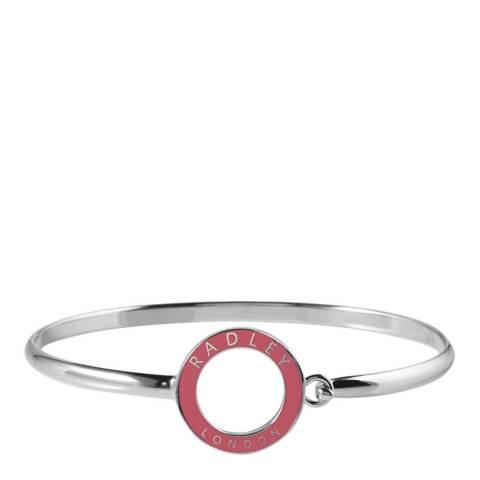 Radley Silver & Pink Esher Street Bracelet