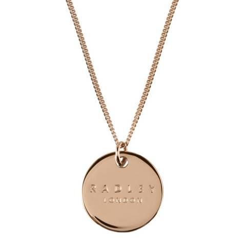 Radley Rose Gold Broad Street Necklace