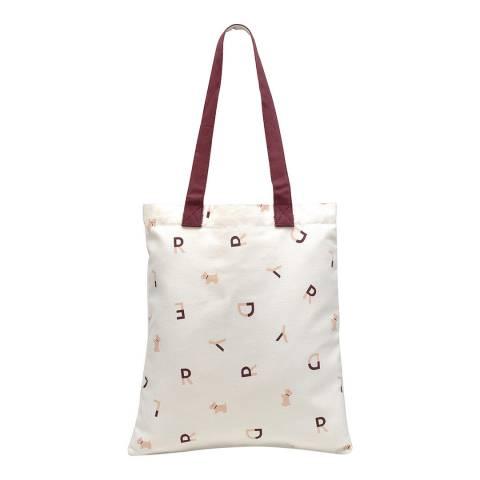 Radley White Medium Tote Bag