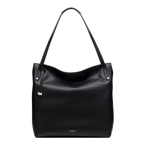 Radley Black Large Zip-Top Shoulder Bag