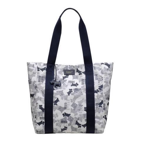 Radley White Large Open Top Shoulder Bag