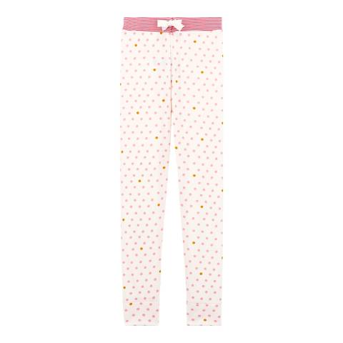 Petit Bateau Girl's Polka Dot Design Pyjama Bottoms