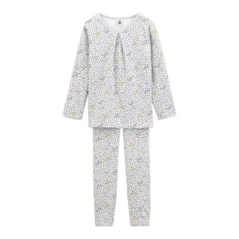 Petit Bateau Girl's Multi Spangled Pyjamas