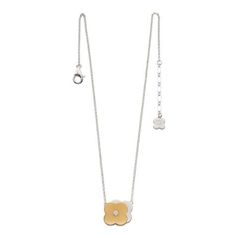 Orla Kiely Shadow Flower Short Necklace