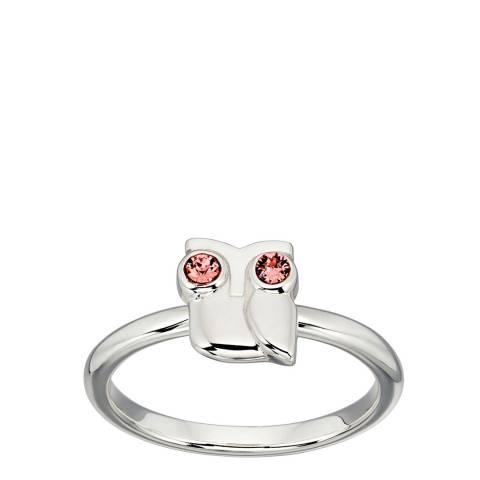 Orla Kiely Swarovski Owl Ring