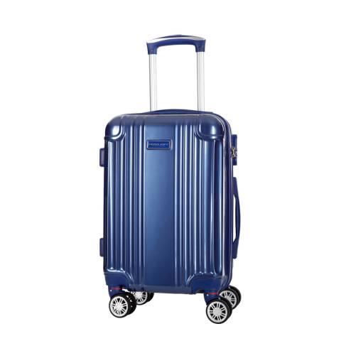 Travel One Blue Comilla Medium Suitcase 55cm