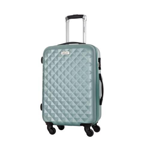 Travel One Green Edison Medium Suitcase