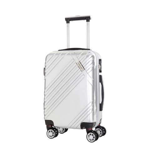 Travel One Silver Rosciano Medium Suitcase
