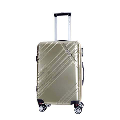 Travel One Gold Rosciano Medium Suitcase