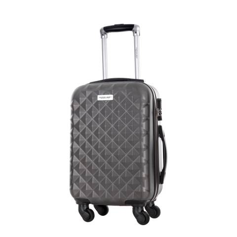 Travel One Grey Edison Medium suitcase 55cm