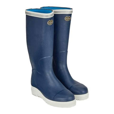 Le Chameau Women's Marine Blue Marinord Boots