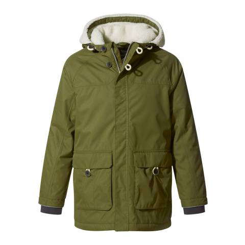 Craghoppers Pherson Dark Moss Waterproof Insulated Jacket