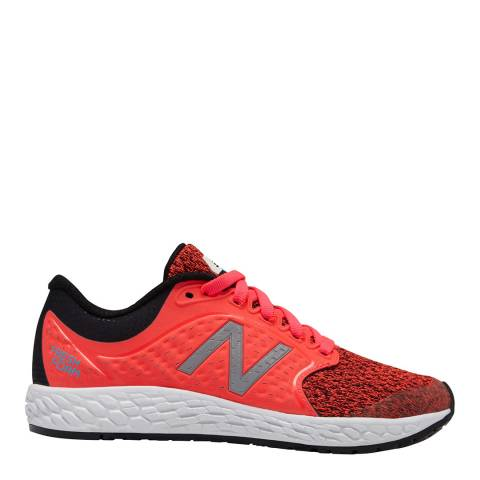 New Balance Junior Vivid Coral Trainers