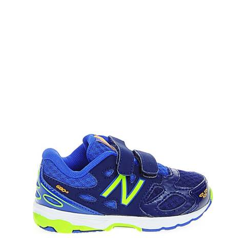 New Balance Infant Blue Trainers
