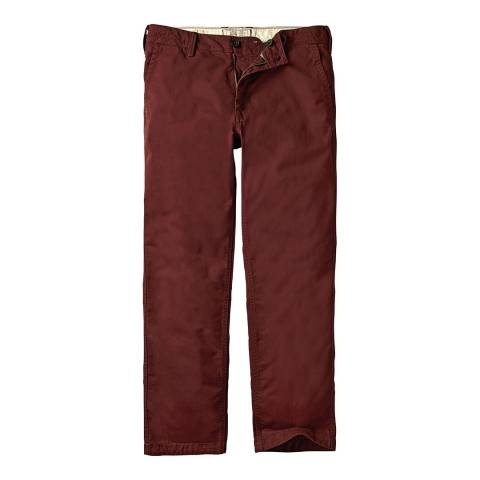 Fat Face Russet Red Heritage Coastal Chino