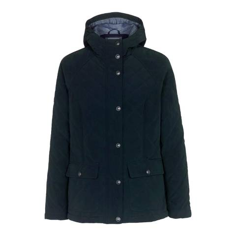 Fat Face Navy Anglesey Quilted Jacket