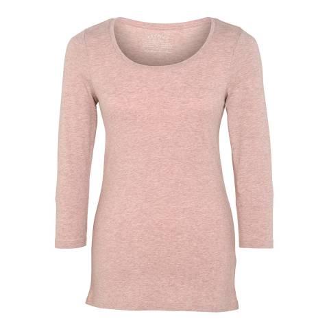 Fat Face Pink Laura 3/4 T-Shirt