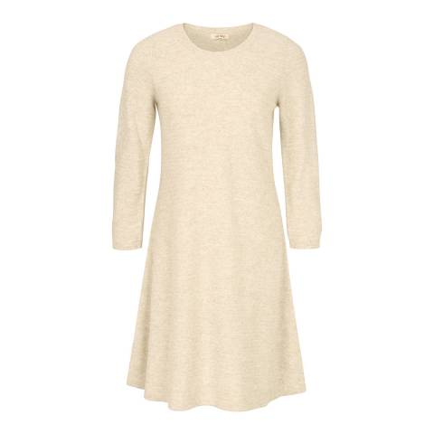 Fat Face Ivory Simone Knitted Dress