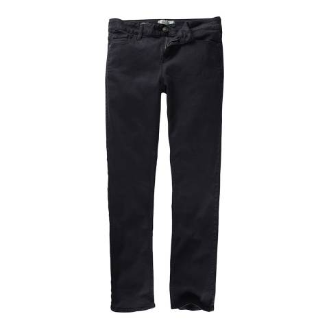 Fat Face Dark Sky Garment Dye Straight Trouser