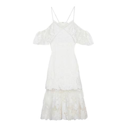 Three Floor Off White Playful Sister Dress