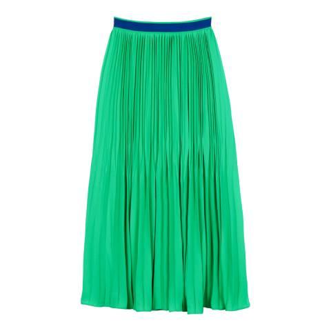 Three Floor Emerald Green Envy Skirt