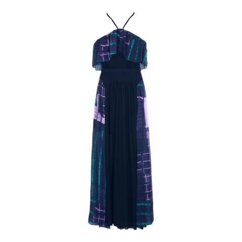 Three Floor Navy/Multi Dizzy Heights Dress