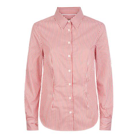 Jaeger Red Double Stripe Bold Workshirt