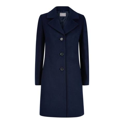 Jaeger Navy 3 Button Coat