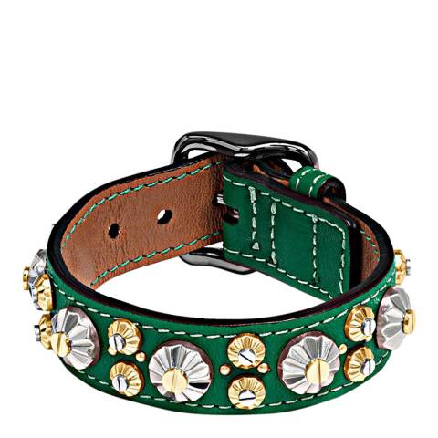 Coach Forest Daisy Rivet Bracelet
