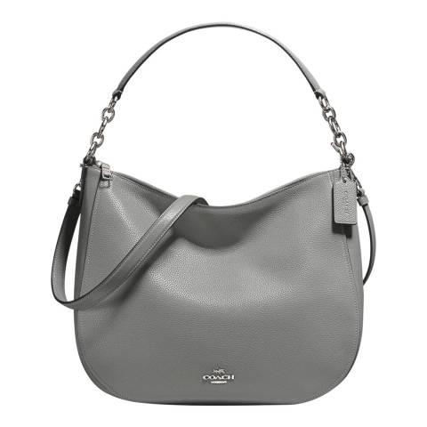Coach Heather Grey Chelsea 32 Hobo Bag