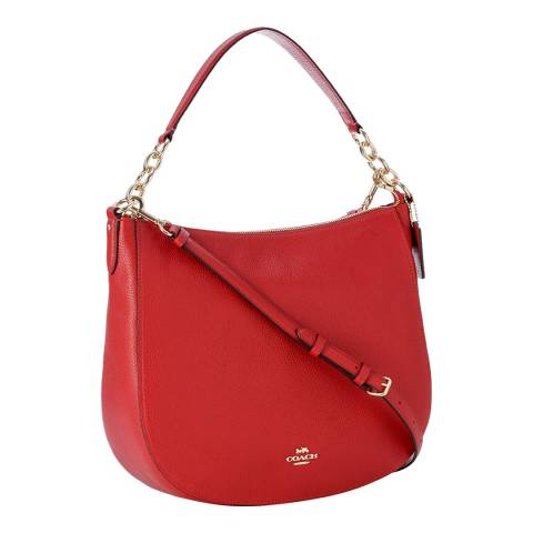 Coach Jasper Red Chelsea 32 Hobo Bag