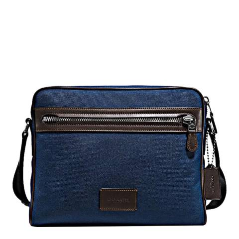 Coach Bright Navy Metropolitan Camera Bag