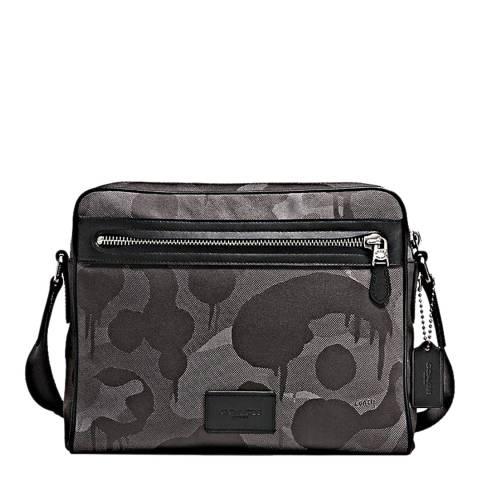 Coach Grey Print Metropolitan Camera Bag