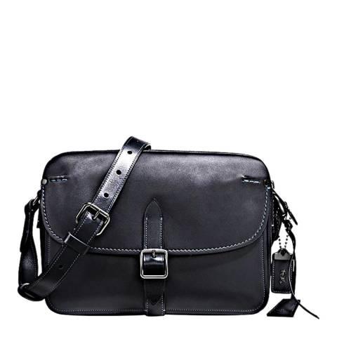 Coach Navy Glovetan Gotham Crossbody Bag