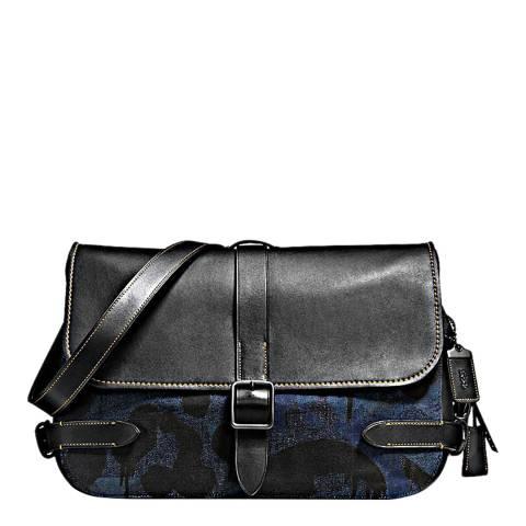 Coach Denim Wild Beast Gotham Messenger Bag