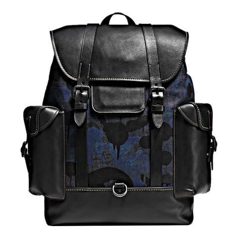 Coach Denim Wild Beast Gotham Backpack