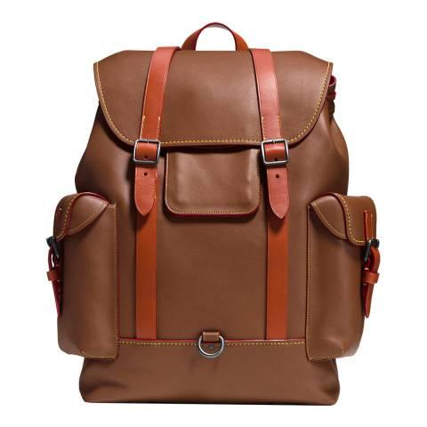 Coach Brown Glovetan Gotham Backpack