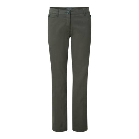 Craghoppers Khaki Kiwi Pro Stretch Trousers
