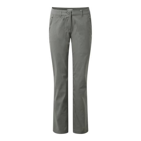Craghoppers Grey Kiwi Pro Stretch Trousers