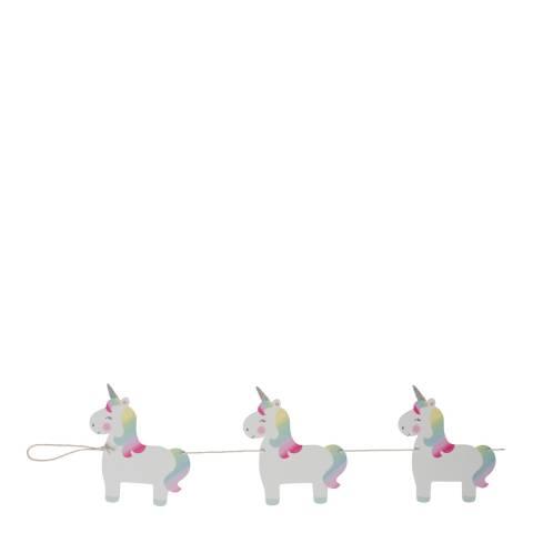 Sass & Belle Rainbow Unicorn Bunting