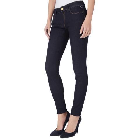Replay Dark Blue Luz Skinny Jeans