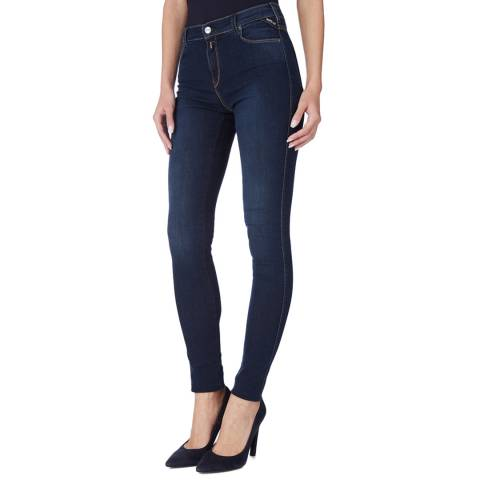 Replay Blue Stella Skinny Jeans