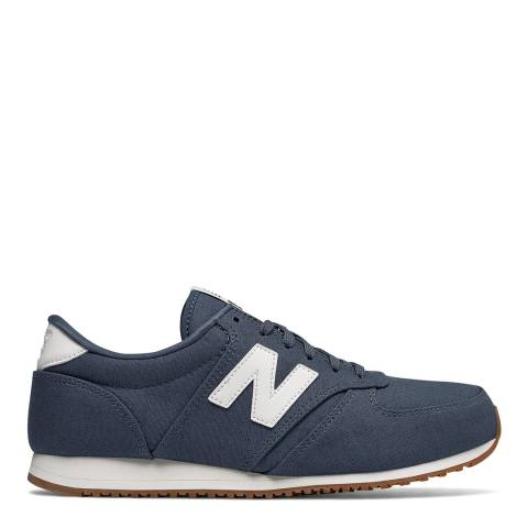 New Balance Navy Textile 420 Sneakers