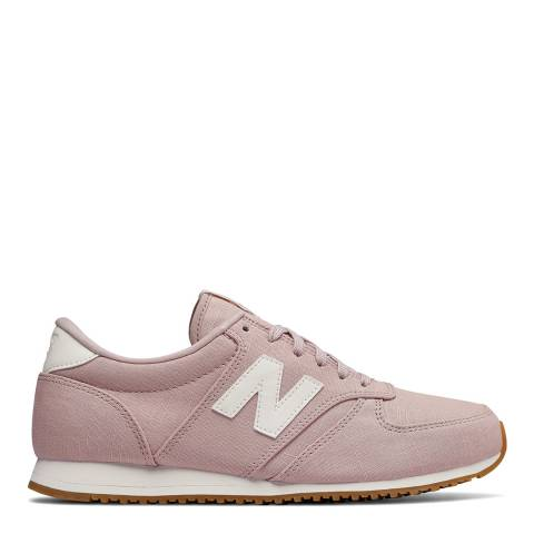 New Balance Light Pink Textile 420 Sneakers