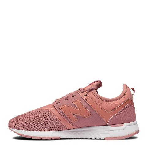New Balance Pink Knit 247 Classic Sneakers