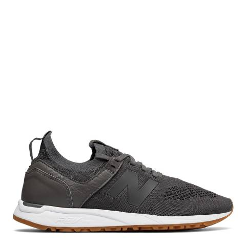 New Balance Dark Grey Textile Q118 Sneakers