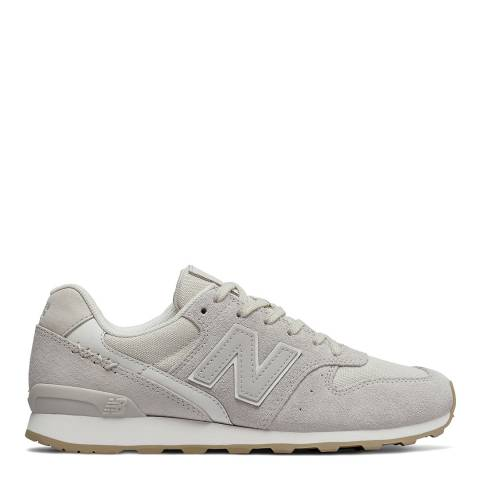 New Balance Grey Suede 996 Sneakers